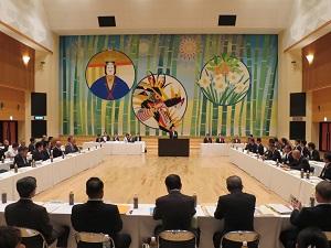 第133回福岡県市長会会場