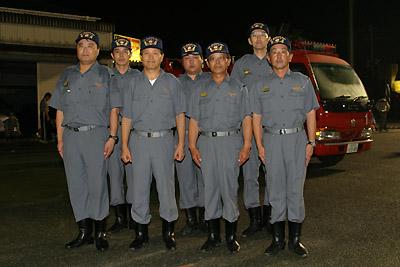 消防団幹部
