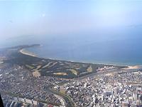 上空からの古賀市