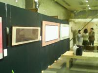 ターミナルアート展の様子