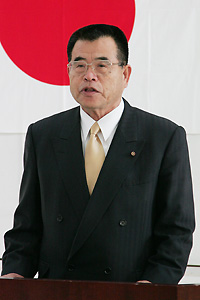 矢野治男市議会議長