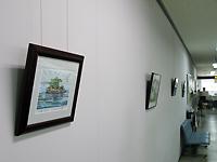 市役所廊下の絵画