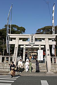 古賀神社での結婚式