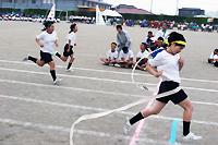 古賀中学校体育祭の様子