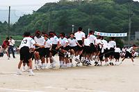 古賀東中学校体育祭の様子