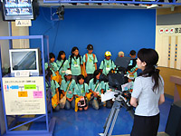 NHK福岡放送局の見学