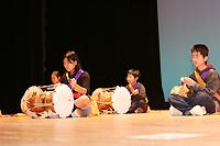 韓国の民族楽器の演奏披露