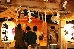 古賀神社の初詣