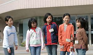 子ども実行委員の5人