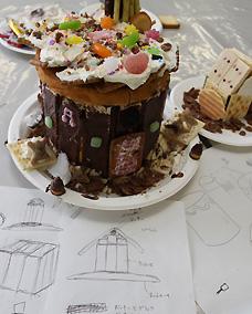 お菓子の家とその設計図