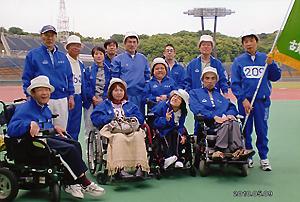 古賀市の選手団