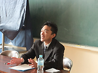 高宮先生(古賀東学童保育)