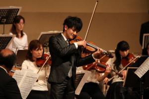 瀧口直毅さん(バイオリンソリスト)