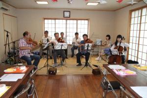 古賀市民オーケストラの演奏