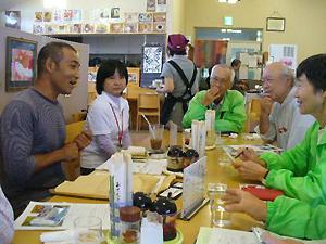 沖縄からの参加者との交流