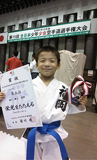 樋口慶太5位入賞