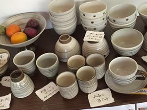 小石原焼の食器たち
