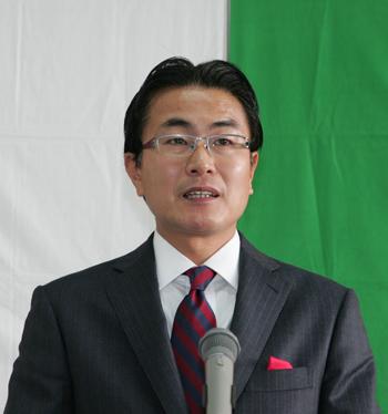 竹下司津男市長