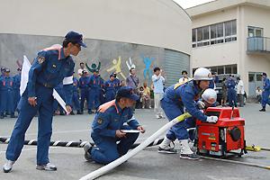 消防ポンプ操法大会
