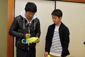 武田さんサイン