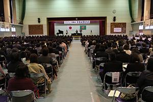 東中卒業証書授与式