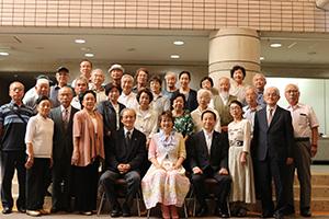 宮川花子さんとシニアクラブ連合会役員