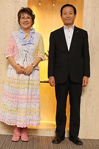 宮川花子さんと市長