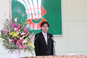 古賀西小卒業式②