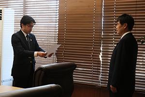 米倉教育委員任命式