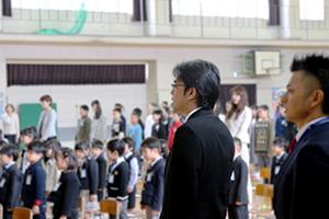 青柳小入学式②