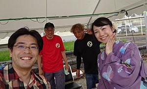 夏祭り 東浜山団地区