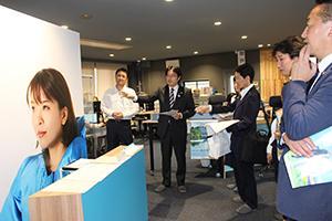 「水の特命大使」ボートレーサーの小野生奈さんの活動も紹介