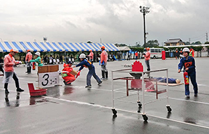 粕屋北部地区防災協会訓練競技会