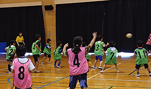 古賀市子ども会育成会連合会のドッジボール大会
