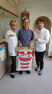 ラグビー日本代表・福岡堅樹選手のご実家の福岡歯科をつないで