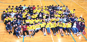 「青小キャラバン」東峰学園との交流