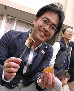 古賀東小学校フェスタ 焼きマシュマロ