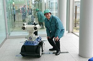 正興電機 巡視点検ロボットと