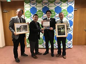小野校区運営協議会の皆さん 写真コンテストの結果をご報告いただきました