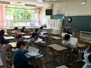 花見小2年生の教室