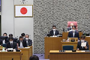 古賀市議会定例会の最終本会議