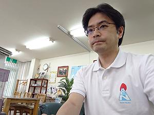 「コロナと闘う応援村」オンライン会議にロゴマークが入ったビームスジャパンプロデュースのポロシャツを着て臨みました