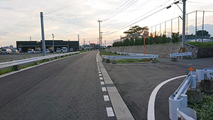 都市計画道路・中川熊鶴線整備の状況