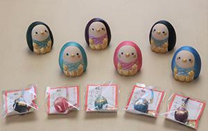 博多人形師の鶴田加奈子さんからアマビエを寄贈していただきました