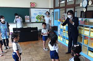 福岡朝鮮初級学校の幼稚部(附属幼稚園)を訪問しました