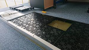 プラスチック廃材を再利用した床下環境のシステム