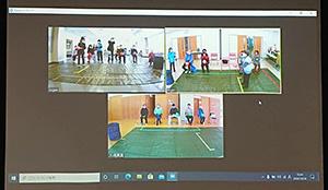 高齢者の介護予防イベント「いきいきボールンピック大会」をリモートで開催