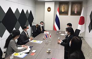 在福岡タイ王国総領事館 アッタカーン総領事と会談