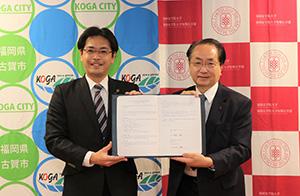 福岡女学院大学・同大学短期大学部さまと包括連携協定を締結