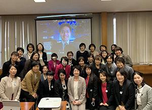 講演の機会をいただいた女性議員ネットワークの皆さんと